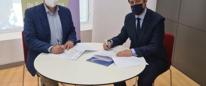 Renovación del convenio de colaboración entre el Colegio de mediadores de Seguros de Salamanca y Reale Seguros